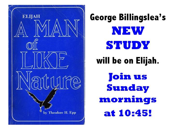 Elijah Study